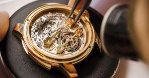 Man Watch - Girard Perragaux Minute Repeater